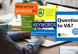 Questions To VA: Keywords