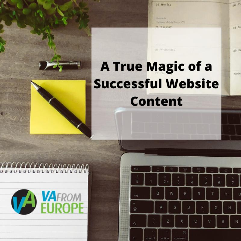 A True Magic of a Successful Website Content