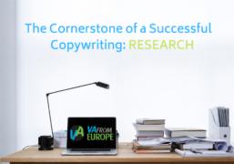 The Cornerstone of a Successful Copywriting: RESEARCH