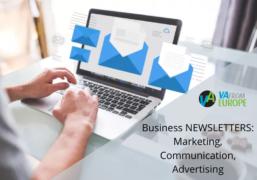 Business NEWSLETTERS: Marketing, Communication, Advertising
